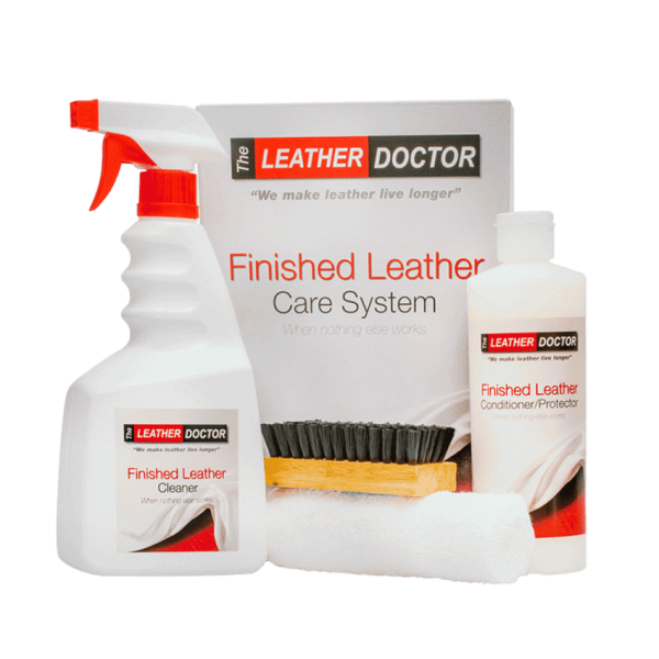 Finished Leather Care System