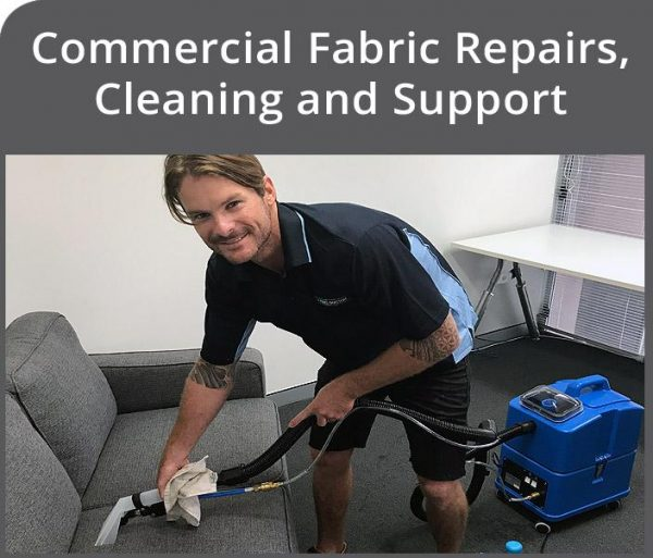 Commercial Fabric Repairs, Cleaning and Support