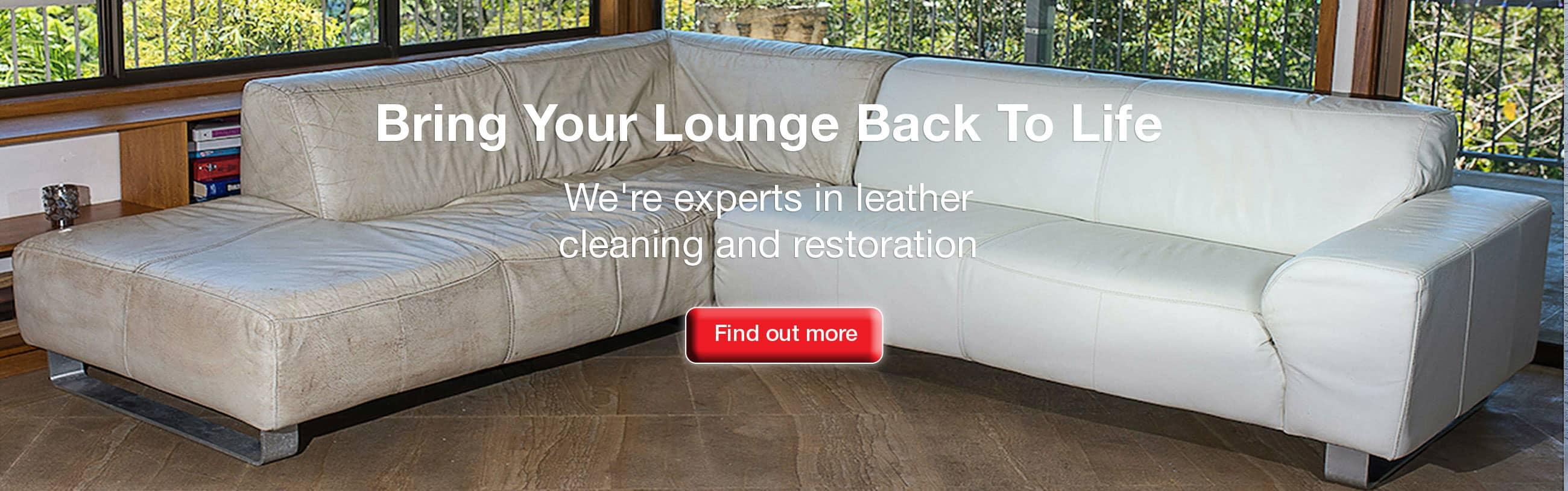 Leather Sofa Refurbishment