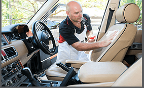 automobile leather cleaning & repairs