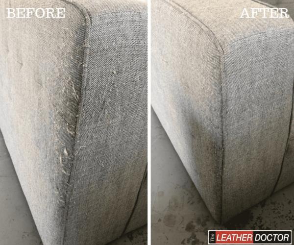 Fabric cat claw/scratch repair
