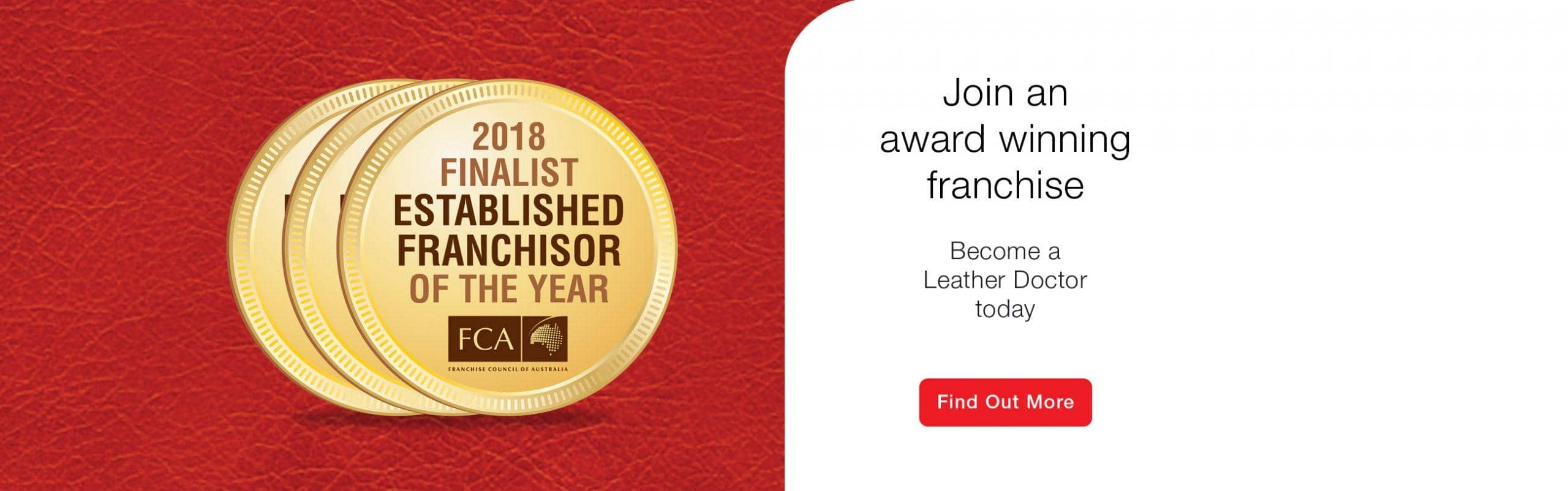 2018 Finalist Established Franchisor Of The Year