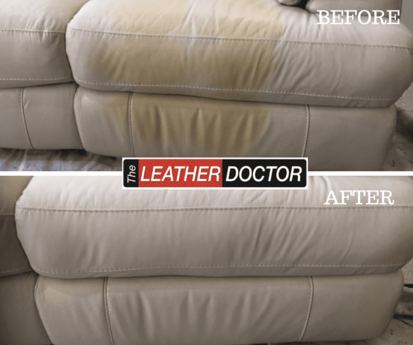 leather repair removing stain off leather