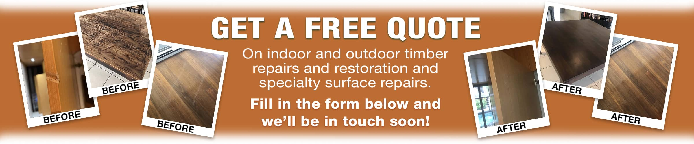Timber Doctor Get a Free Quote